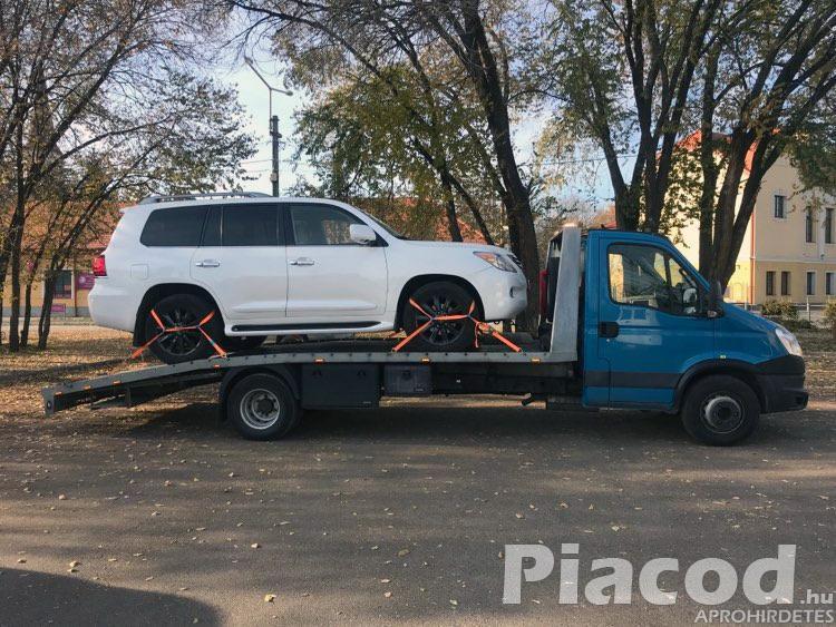 0-24 Autómentés Autószállítás Furgonmentés Tihany Balatonfüred Csopak