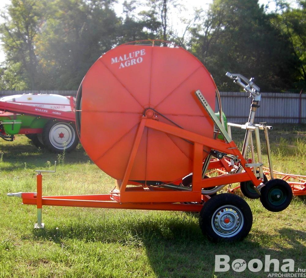 Új Malupe 63\300 Öntöződob, Szántóföldi Öntöző rendszer, Locsoló, Vízágyú, Vízturbina, Traktor, Sziv