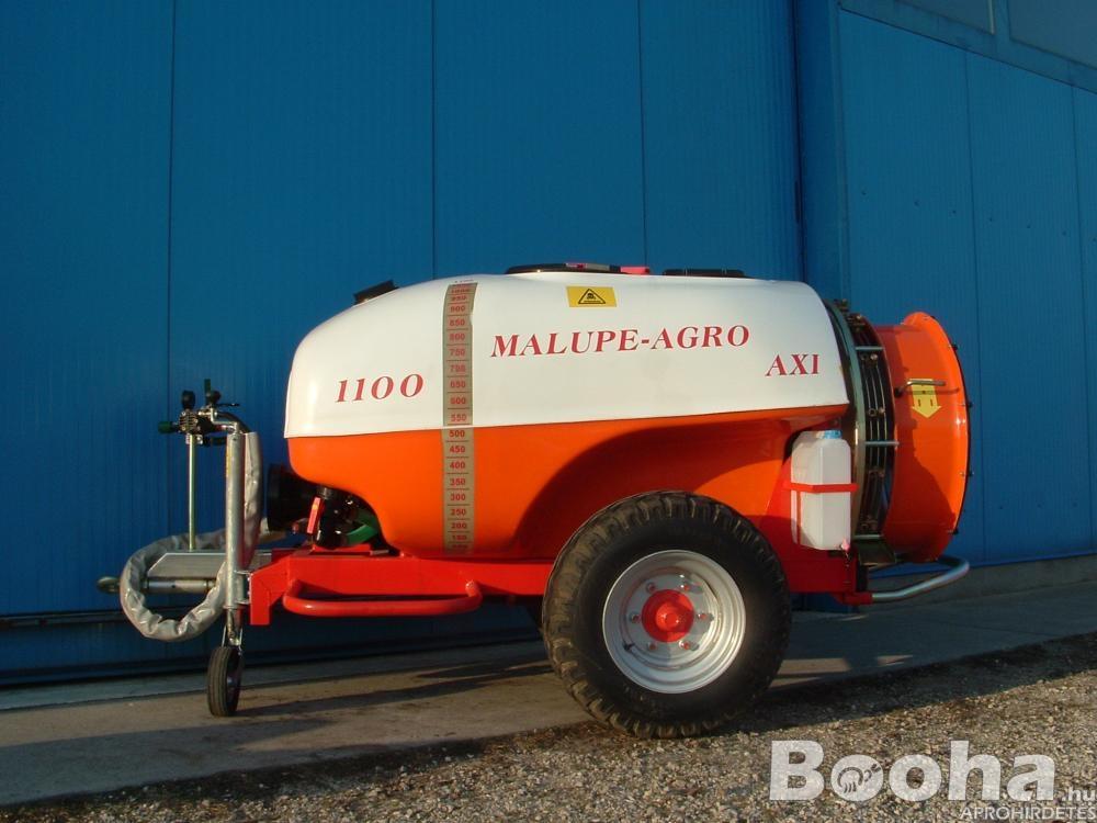 Új Malupe 1100L AXI ültetvény Permetező, Vegyszerező, Traktor Vontatott Permetezőgép, Szőlő, Gyümölc