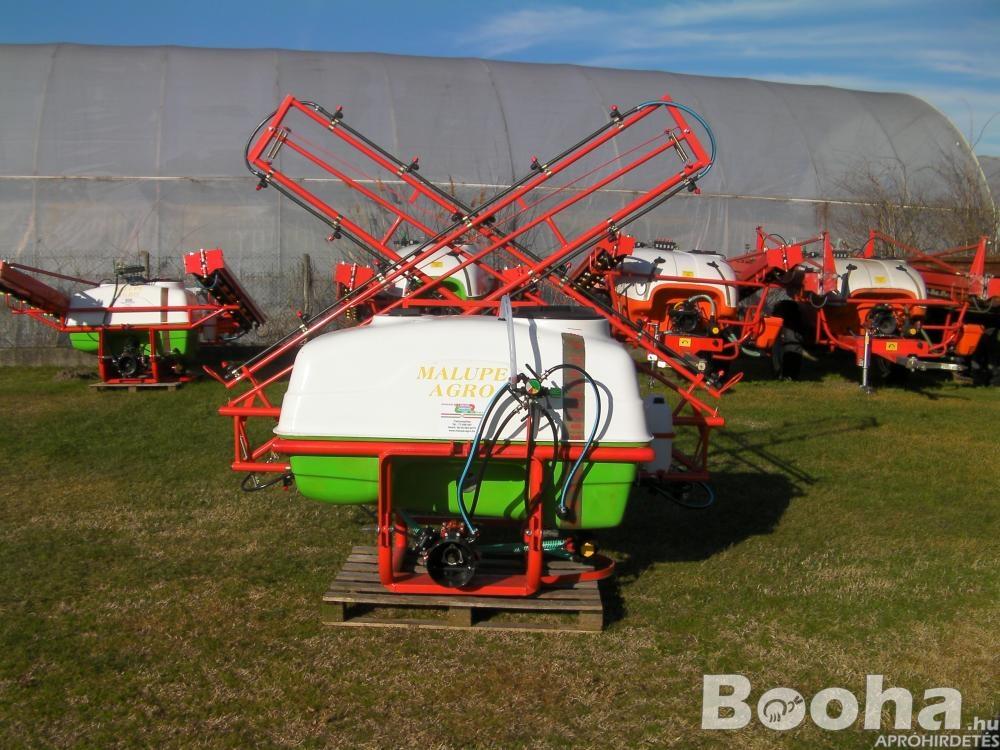 Új Malupe Agro 600L & 800L szántóföldi traktor függesztett permetező, permetezőgép, vegyszerező