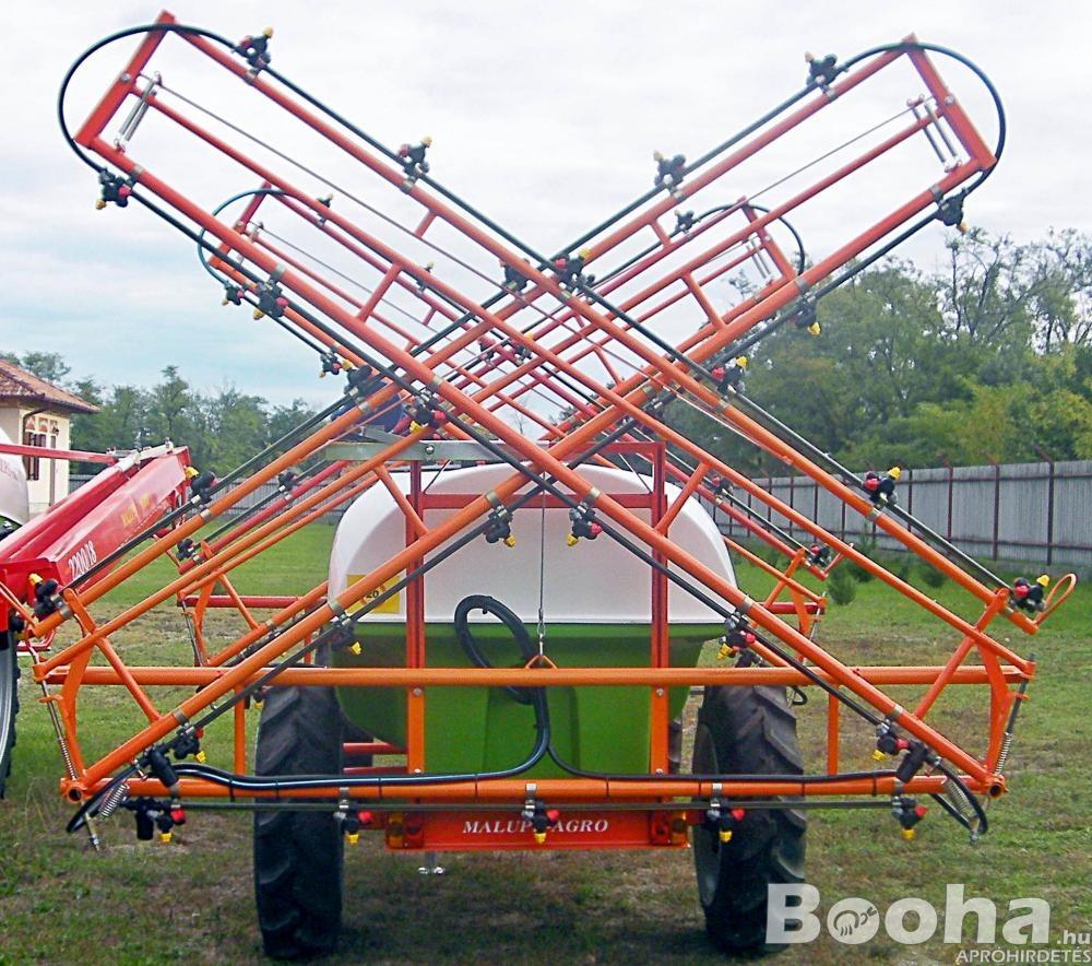 Permetezőgép akció - Malupe 1000l Traktor Vontatott Szántóföldi Permetező
