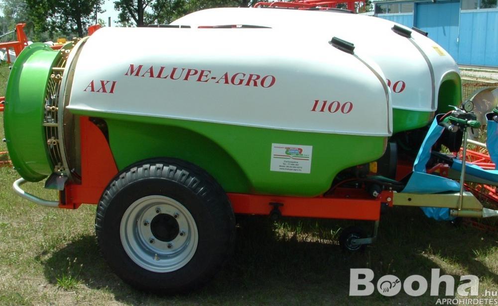 Új Malupe Agro Traktor Vontatott Axiálventilátoros Permetező, Vegyszerező, Permetezőgép