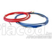 6M Huzalvezető spirál 0,8-1-1,2 (piros-kék)