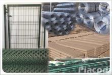 Vadháló drótfonat betonoszlop kerítés építés drótháló
