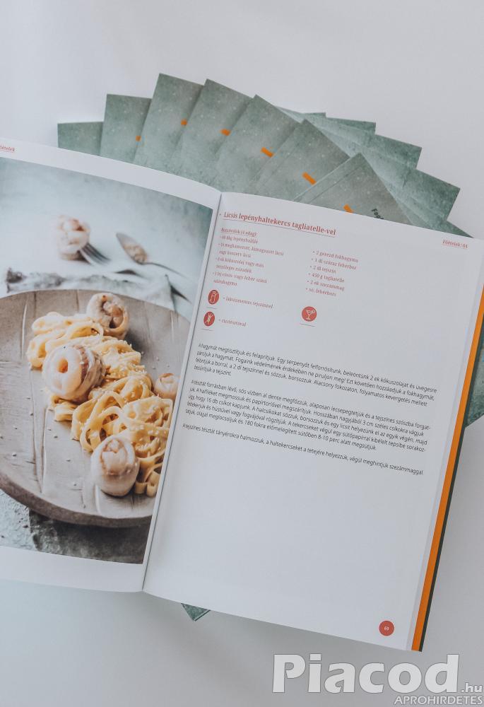 Fogfehérítés utáni Fehér Diéta szakácskönyv