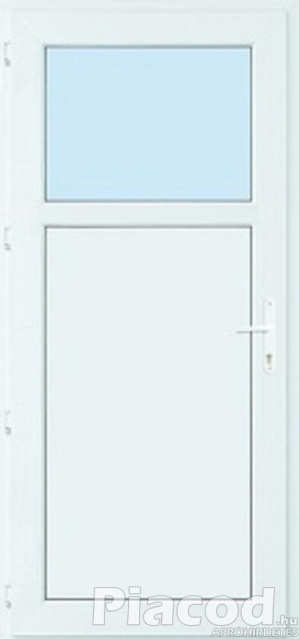 Új műanyag mellék bejárati ajtó raktárról