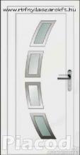 Extra INOX kivitelű bejárati ajtó raktárról