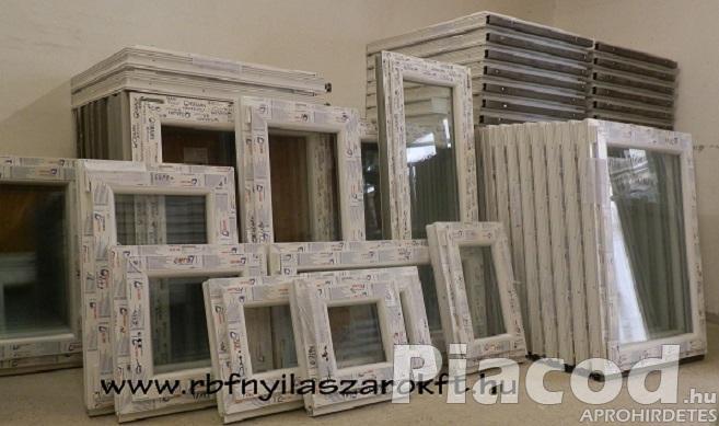 Új műanyag ablakok raktárról azonnal vihetők!