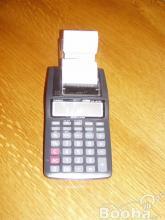 Casio szalagos számológép