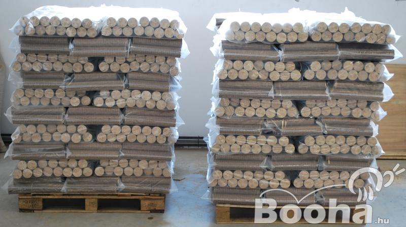Kiváló fűtőértékű fabrikett közvetlenül a gyártótól eladó! Kedvezményes árak egész évben!