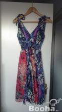 M-es színes indiai női nyári ruha eladó