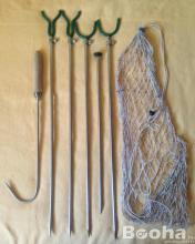 Horgász kellékek és horgászorsó