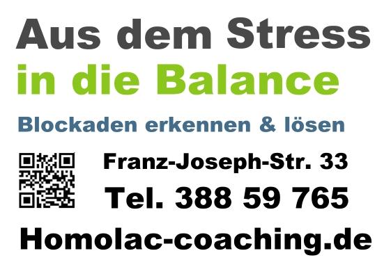 Marlis Homolac: Aus dem Stress in die Balance