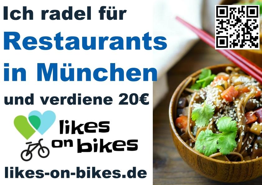 Radeln für Restaurants in München