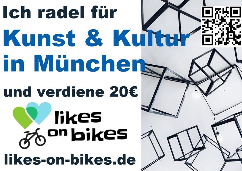 Radeln für Kunst und Kultur in München
