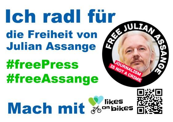Julian Assange (Benefiz- und Solidaritätsaktion)
