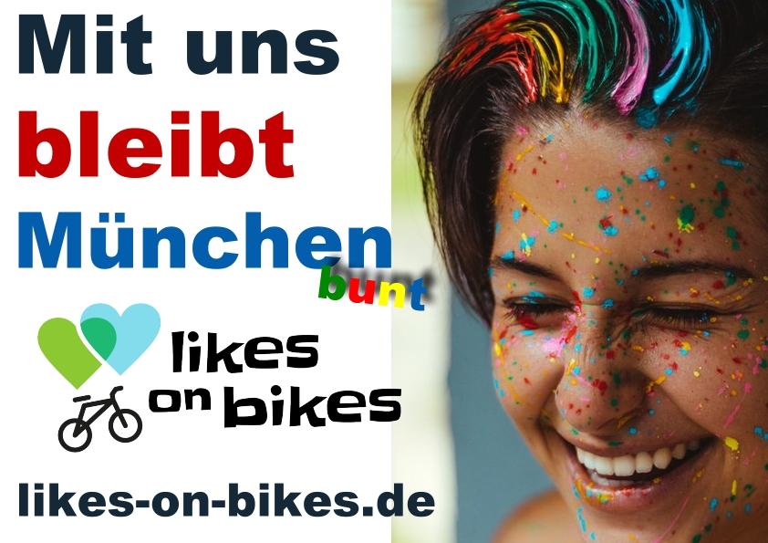 Mit uns bleibt München bunt (Solidaritätsaktion)