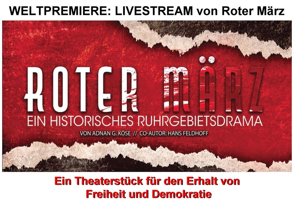ROTER MÄRZ - Theaterstück - Livestream