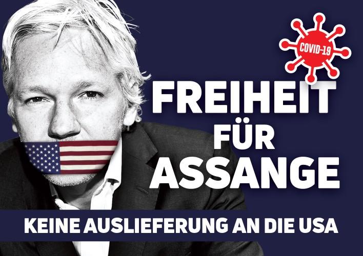 Freiheit für Juian Assange