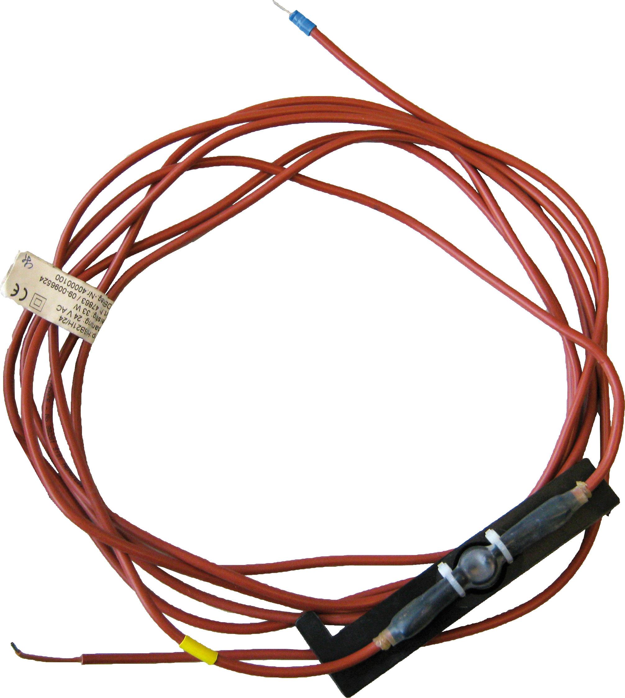 Heizkabel SB 2 / 24 Volt / 33 Watt (Frostschutz bis ca. -20°C) zum Nachrüsten