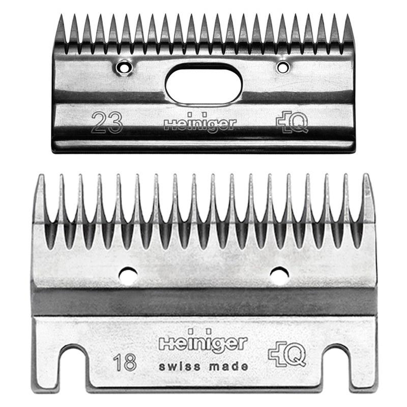 Heiniger 18/23 Schermesser Set