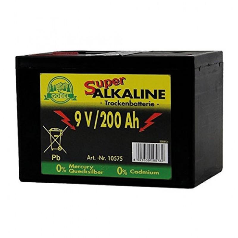 Batterie 200 AH alkalisch