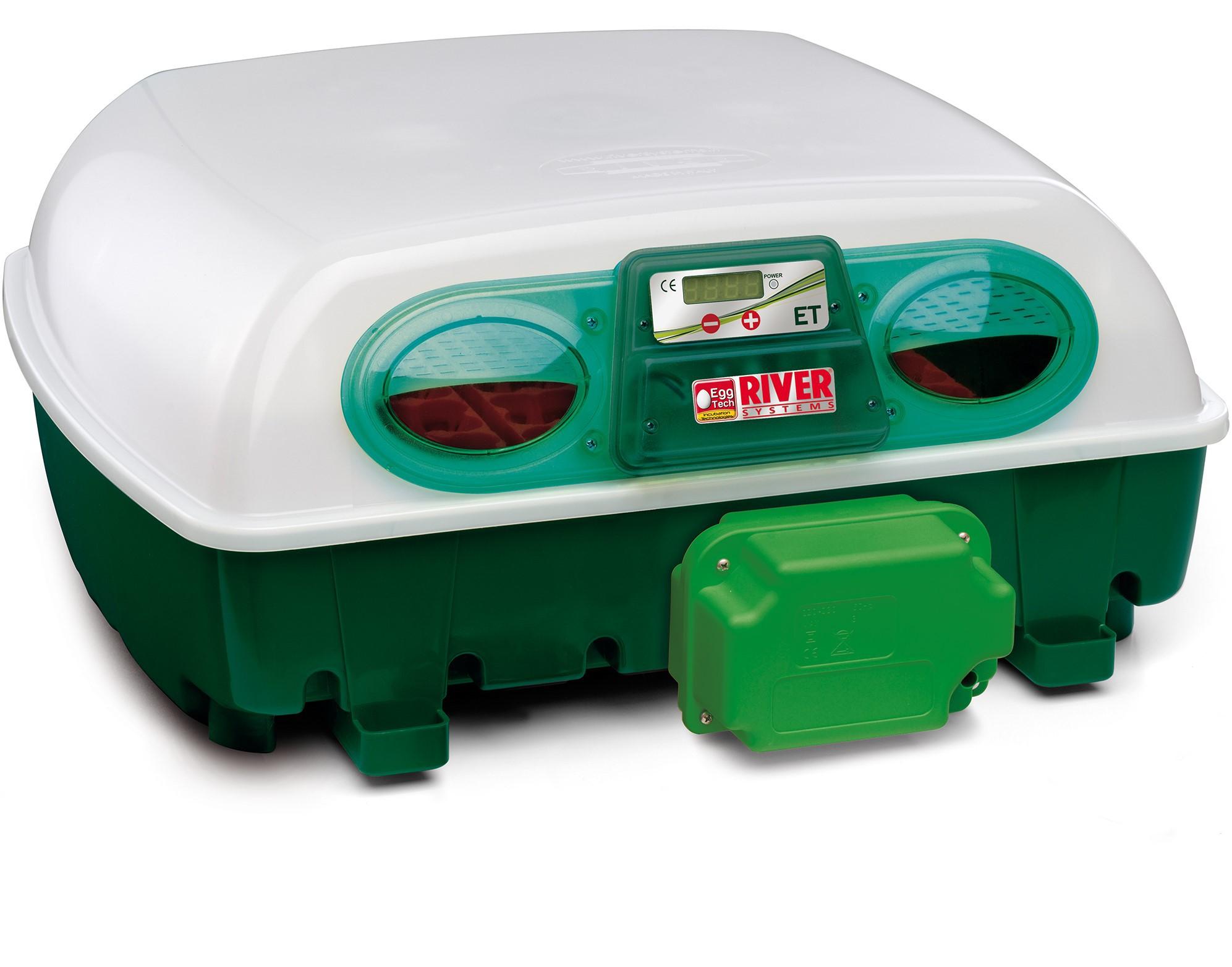 Brutautomat ET Super 49 für 49 Eier mit Eierwendesystem
