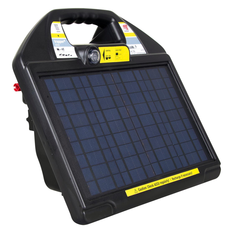 horizont 12V Solar Weidezaungerät - trapper® AS50