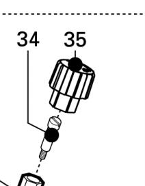 Heiniger Distanzschraube DELTA2+3