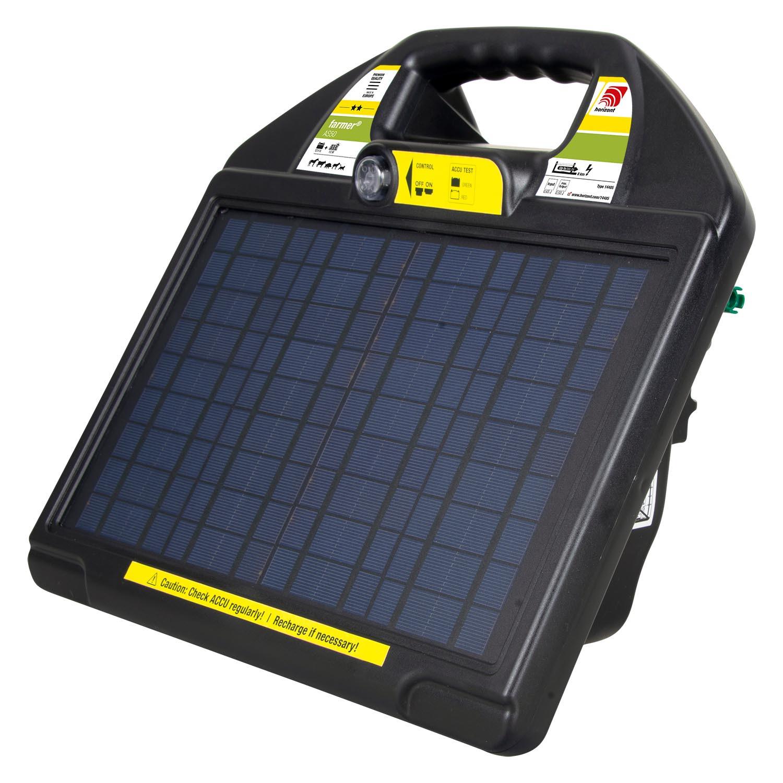 Weidezaungerät Solar farmer AS50, 0,65J, 11.000V max. für Zäune bis 16.000m