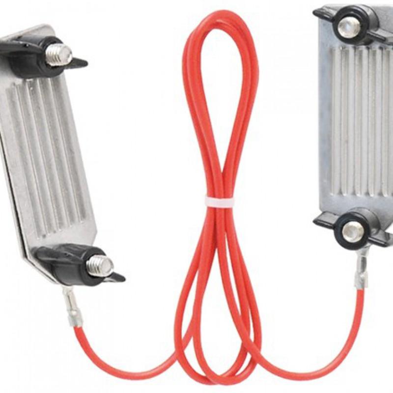 Edelstahl Stromverbinder für Bänder bis 40mm