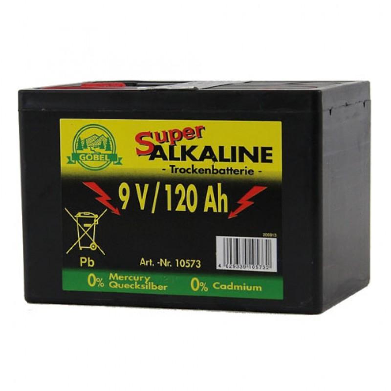 Batterie 120 AH alkalisch