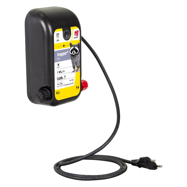 Weidezaungerät 230V trapper N15, 0,25J, 6.500V max.für Zäune bis 1.500m