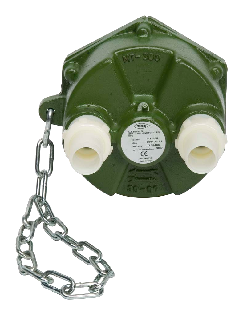 Selbstansaugende Zapfwellenpumpe mit  MT 300komplett mit Zubehör