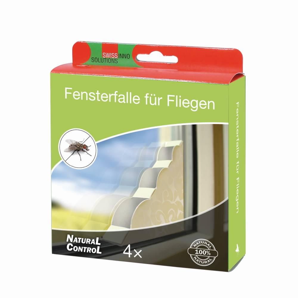 Fensterfalle für fliegende Insekten 4er Pack