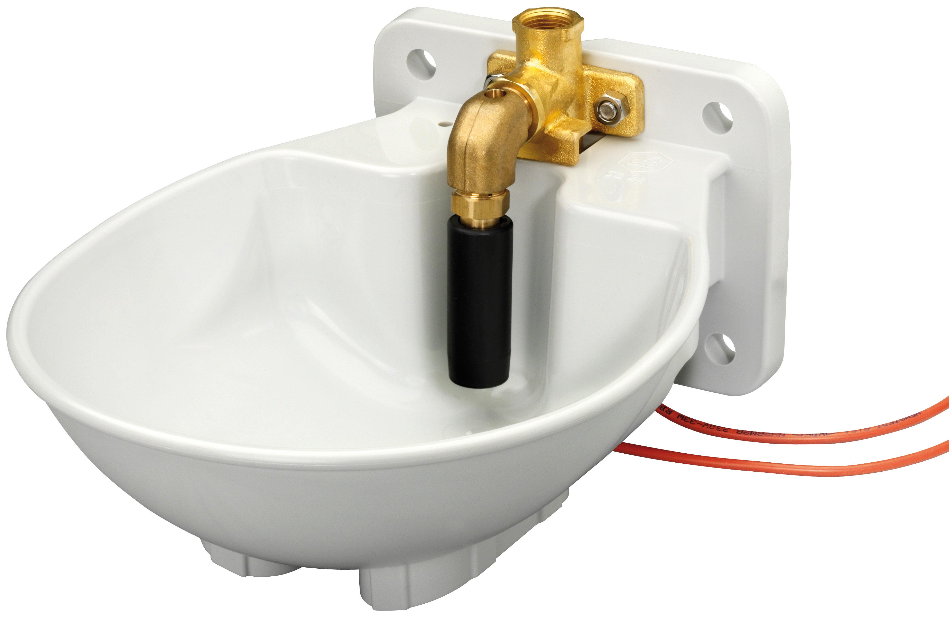 Tränkebecken SB 23 H BACTO® PROTECT mit Heizkabel 230 Volt / 33 Watt (Frostschutz bis ca. -20°C)