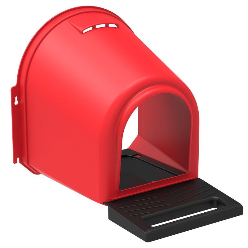 Kunststoff Nestbox (Legenest, Nistkasten, Hühnernest) Modell COMFORT