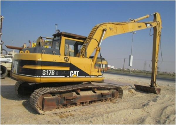 2001 CATERPILLAR 317 BL