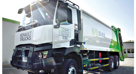Renault Trucks and SUEZ Middle East Recycling - Driving success in the United Arab Emirates