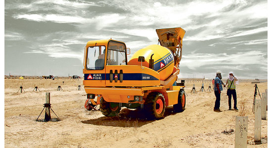 AJAX FIORI: Advantages of Argo Self-Loading Mobile Concrete Mixer