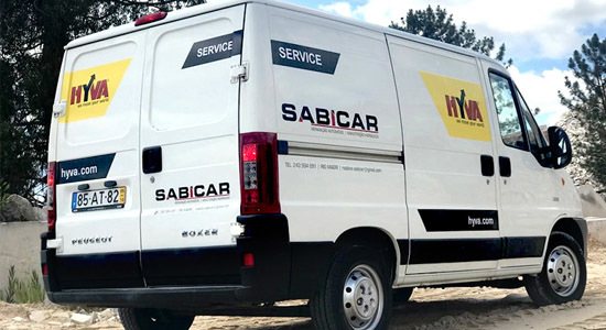 Sales and service enhanced with appointing Sabicar as Hyva's new partner in Portugal