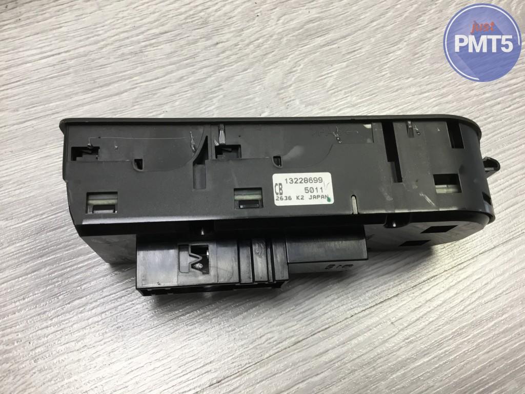 Fr. L. power window control unit OPEL ASTRA H 2007 (13228699), 11BY1-25618