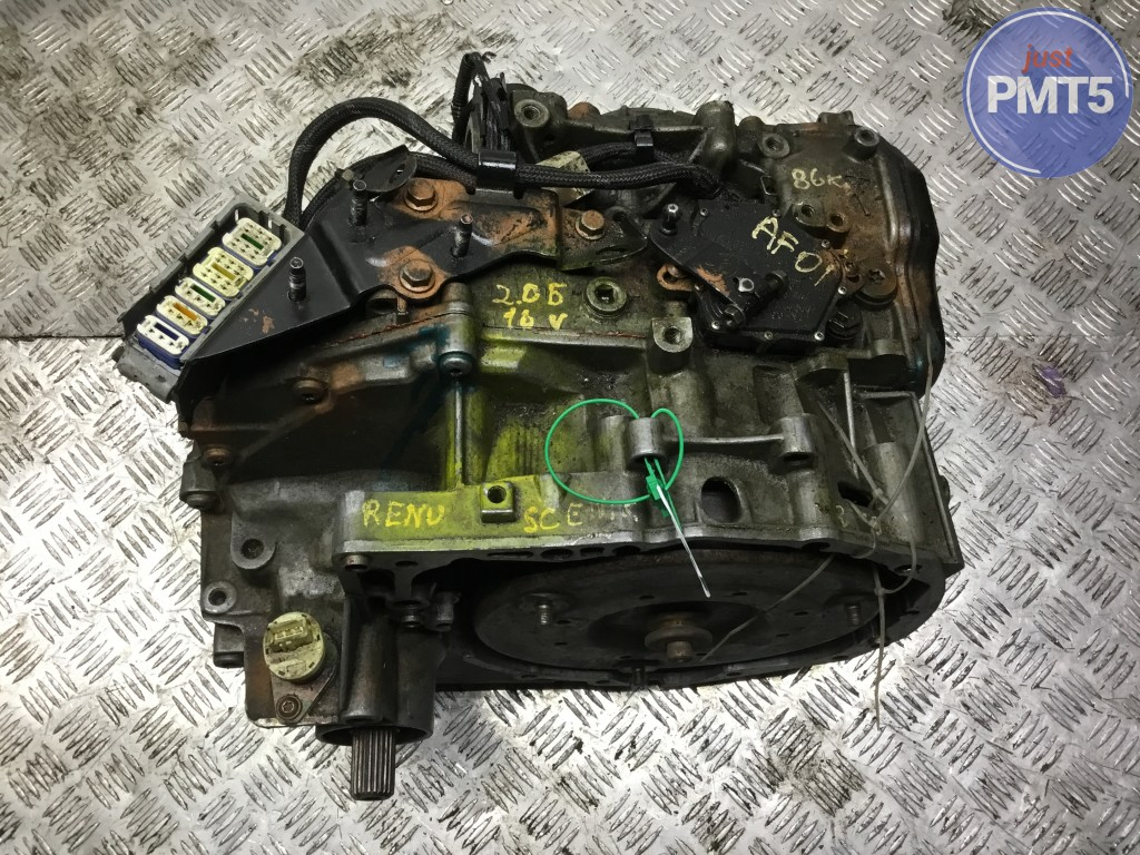 Automatic transmission assembly RENAULT SCENIC I MPV 2000 (DP0013), 11BY1-28419