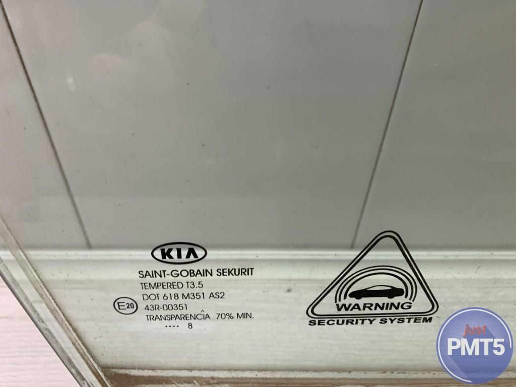 Rr. R. door window glass HYUNDAI i30 2008 (834202L010), 11BY1-27520