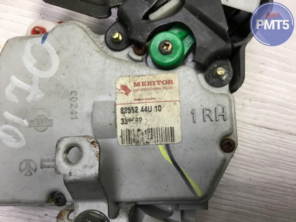 Rr. R. door lock NISSAN PATROL GR V 2002 (8255244u10), 11BY1-26088