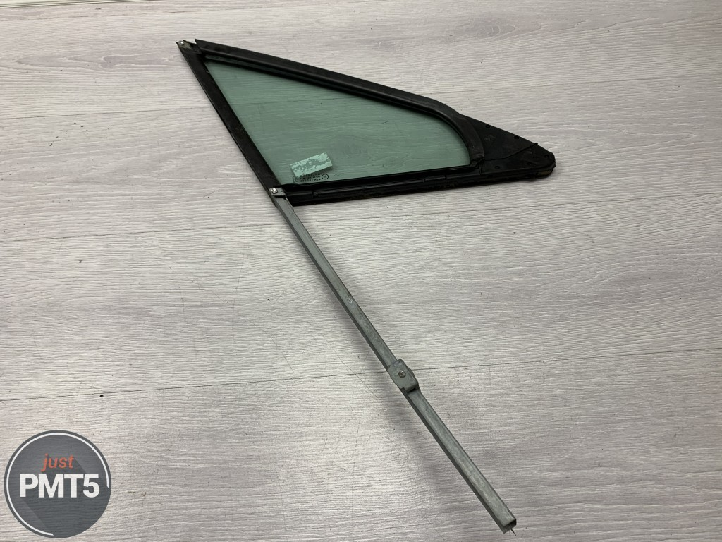 Fr. L. door window ventilator glass PEUGEOT 407 2005 (9654093880), 11BY1-27527