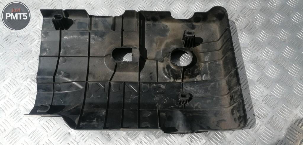 Engine cover plastic (on ICE) SUZUKI GRAND VITARA II 2006 (1317165J0), 128RU1-1007