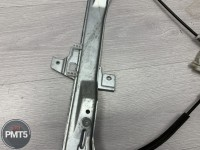 Fr. L. door power glass windows regulator PEUGEOT 407 2005 (9644893580), 11BY1-27528