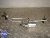 Wiper drive (windscreen wipers trapeze) assembly SKODA FABIA II 2007 - 2014 (5J1955023D, 5J1955605B, 5J1955113B), 310RU1-1265