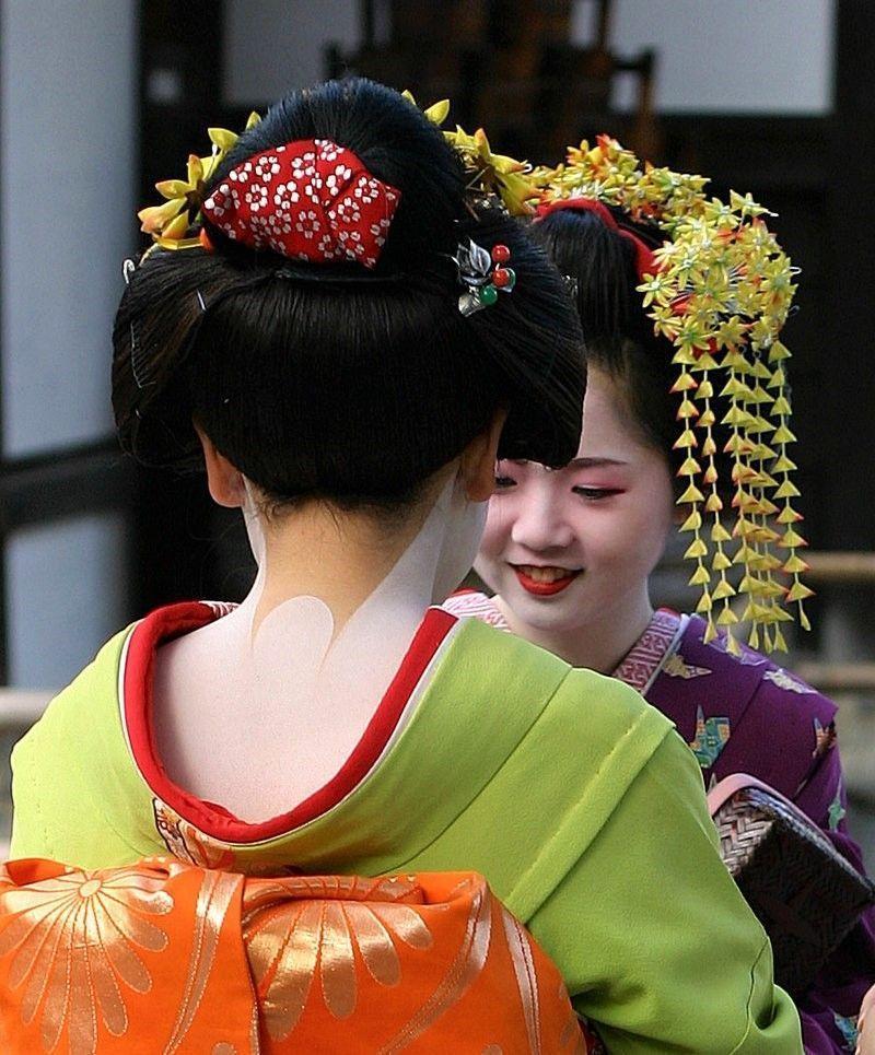 © Wikimedia Commons: Geisha in Kyoto